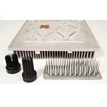 Dissipateur thermique en aluminium / avec ratio de haute densité
