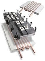 Dissipateur thermique en cuivre / à ailettes fines
