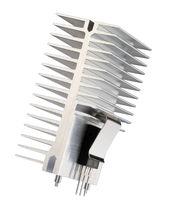 Dissipateur thermique avec système de fixation par clip