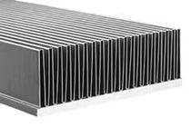 Dissipateur thermique en cuivre / en aluminium / à ailettes fines