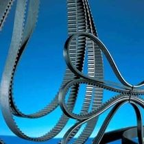 Courroie de transmission striée / en caoutchouc