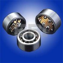 Roulement à billes / à deux rangées / en acier / avec lubrification