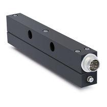 Capteur de proximité magnétique / rectangulaire / analogique