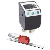 Indicateur de position / LCD / embrochable / pour capteur magnétique