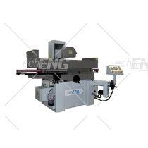Rectifieuse plane / pour tôle métallique / contrôlée par PLC / horizontale