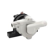 Pompe pour eau chaude / à moteur brushless DC / centrifuge / en acier inoxydable