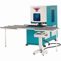 Ébavureuse d'angle pour profilés en PVC / automatique / CNC