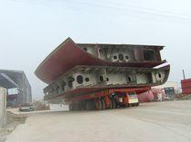 Remorque automotrice pour la construction navale / à 4 essieux
