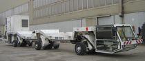 Remorque à 6 essieux / plateau / pour construction de tunnel