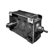 Réducteur à engrenage hélicoïdal / orthogonal / de haute rigidité / modulaire