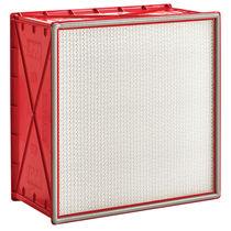 Filtre à air / en panneaux / plissé / de dépoussiérage