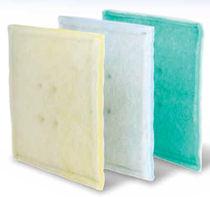 Filtre à air / en panneaux / à lavage en continu / en polyester