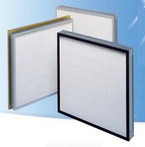 Filtre à air / en panneaux / plissé / mini-plis