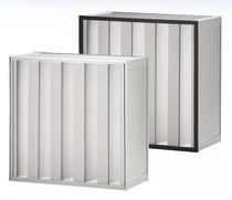 Filtre à air / en panneaux / mini-plis / à grande capacité