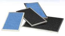 Filtre à air / en panneaux / au charbon actif / haute efficacité