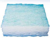 Matériau filtrant en fibre de verre / d'air / de poussière