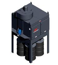 Dépoussiéreur à filtre / décolmatage mécanique / compact