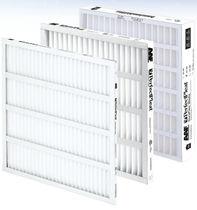 Filtre à air / en panneaux / plissé / pour applications pharmaceutiques