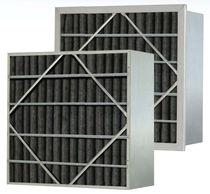 Filtre à air / en panneaux / au charbon actif / plissé