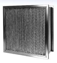Filtre à air / en panneaux / plissé / pour conditions sévères