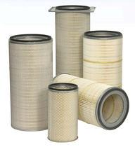 Cartouche filtrante à air / de dépoussiérage / en polyester / pour turbine à gaz