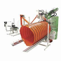 Machine de soudage à air chaud / AC / automatique / de textiles