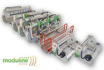 Machine de soudage par coin chauffant / AC / automatique / multitête