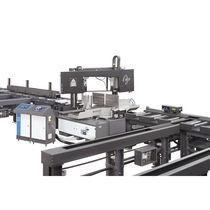 Scie à ruban / pour acier / électrohydraulique / horizontale