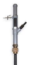 Pompe pneumatique / semi-immergée / à piston / vide-fût