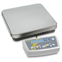 Balance compteuse / avec afficheur LCD / en acier inoxydable / avec interface série
