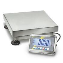 Balance à plate-forme / avec afficheur LCD / en acier inoxydable / robuste
