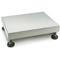 Balance à plate-forme / avec indicateur séparé / plateau en acier inoxydable / IP65
