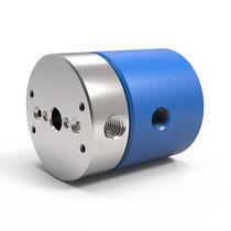 Raccord tournant pour air / 2 passages / en aluminium