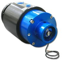 Raccord tournant pour huile / à passage multiple / hydraulique / avec capteur angulaire intégré