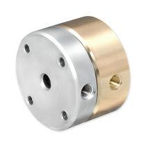 Raccord tournant pour gaz / à passage multiple / pneumatique / en acier inoxydable