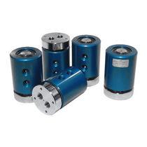 Raccord tournant pour gaz / 2 passages / pour table rotative / en aluminium