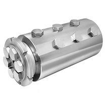 Raccord tournant pour produit chimique / 6 passages / pour applications offshores / en acier inoxydable