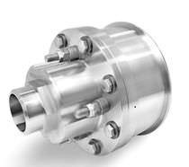 Raccord tournant pour vapeur / haute température / en acier inoxydable