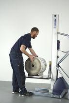 Appareil de levage pour rouleaux / pour conteneur / pour enrouleur / pour caisses