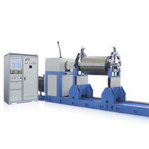 Machine à équilibrer horizontale / pour rouleau de convoyeur / pour ventilateurs / de rotor