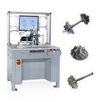 Machine à équilibrer horizontale / à entraînement par courroie / pour turbocompresseur / de haute précision