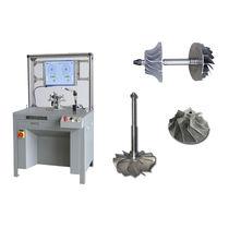 Machine à équilibrer horizontale / à entraînement par courroie / pour turbocompresseur / pour roue de turbine