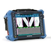 Détecteur de défauts par ultrasons / à transducteurs multiples / portable / pour CND
