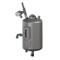 Réservoir en métal / pressurisé / vertical