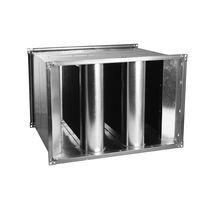 Silencieux aérateur / pour conduit / pour climatisation / en acier