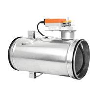 Régulateur de débit de pression diférentielle / pour air / pour application CVC