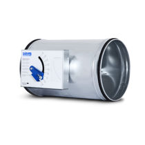 Régulateur de débit volumétrique / à pression différentielle / pour air / pour HVAC