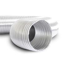 Gaine de ventilation flexible / en aluminium / haute température / pour ventilation