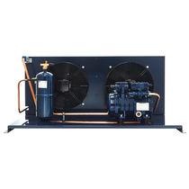 Groupe de condensation semi-hermétique / refroidi par air / pour intérieur