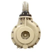 Pompe pour eau de mer / pour produits chimiques / électrique / semi-immergée